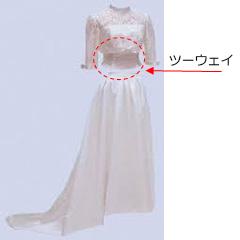 オリジナル(ツーウェイ)&オーダーウエディングドレス